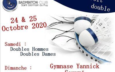 Tournoi Saint Germ voit Double, 24-25 octobre